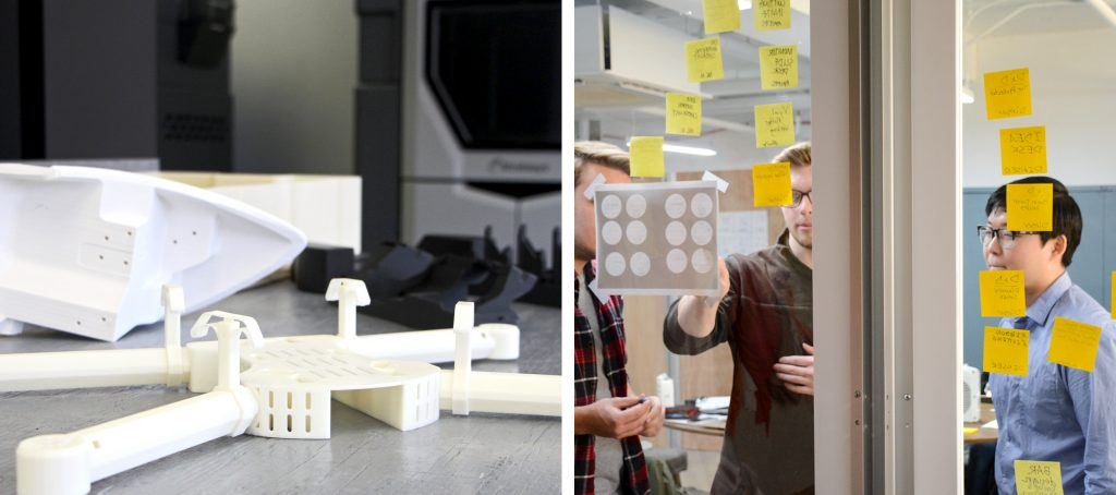 100K Ideas and C3 3-D Printing prototypes