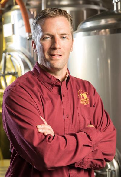 Matthew Sherrow, owner, Fenton Winery & Brewery, Fenton, MI