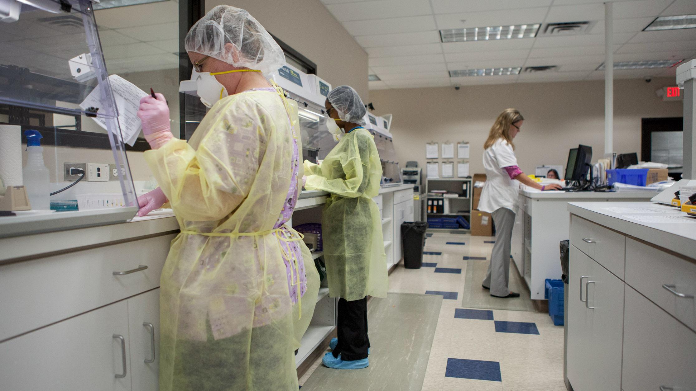 Pharmacy technicians at Diplomat, Flint, MI