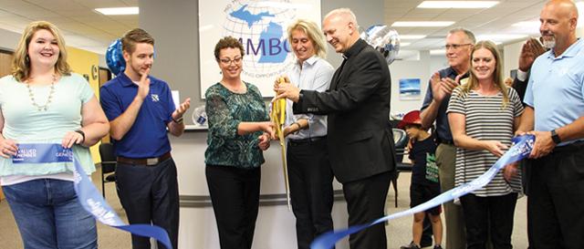 Mid-Michigan Business Center ribbon cutting, Flint Twp, MI