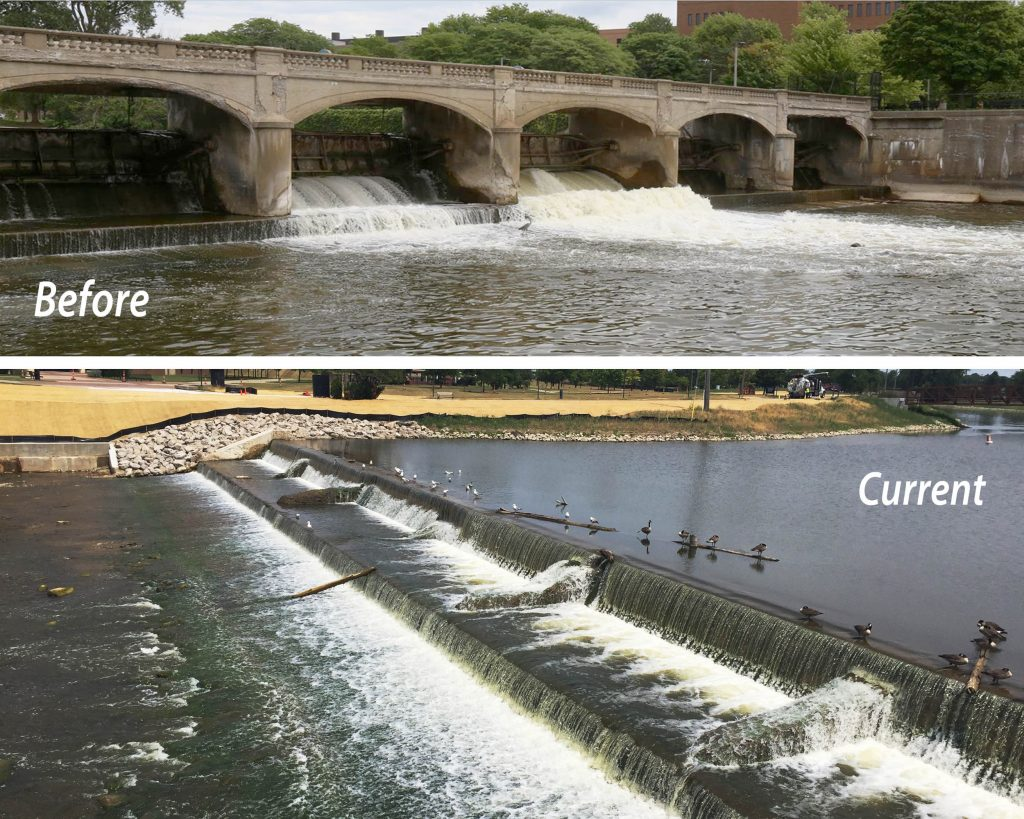 Hamilton Dam deconstruction, Flint, MI