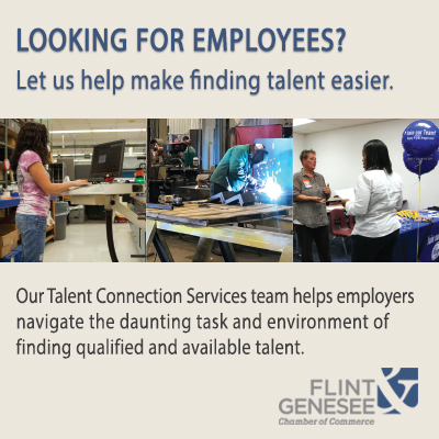 Flint & Genesee Chamber of Commerce Talent Services