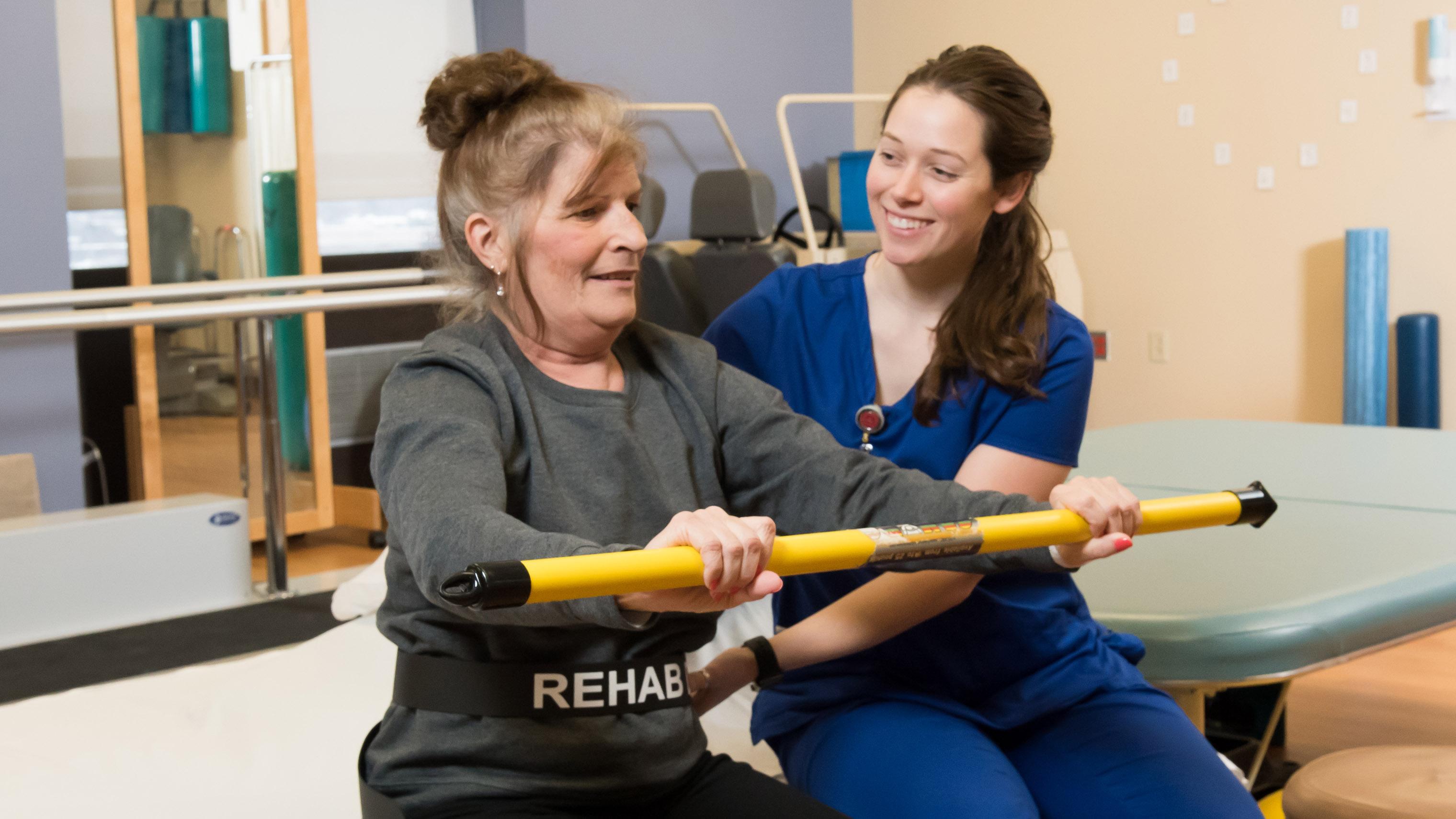 Hurley Medical Center rehab, Flint MI photo Doug Pike