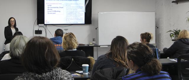 Flint & Genesee Chamber Professional Development class, Flint, MI