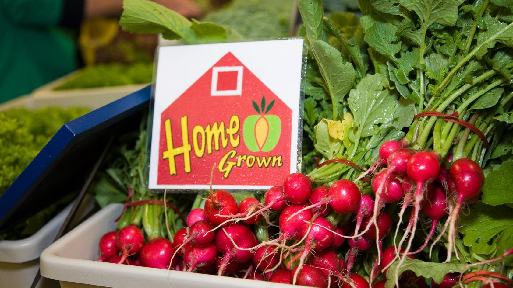 Farm produce, Flint Farmers' Market, Flint, Mi