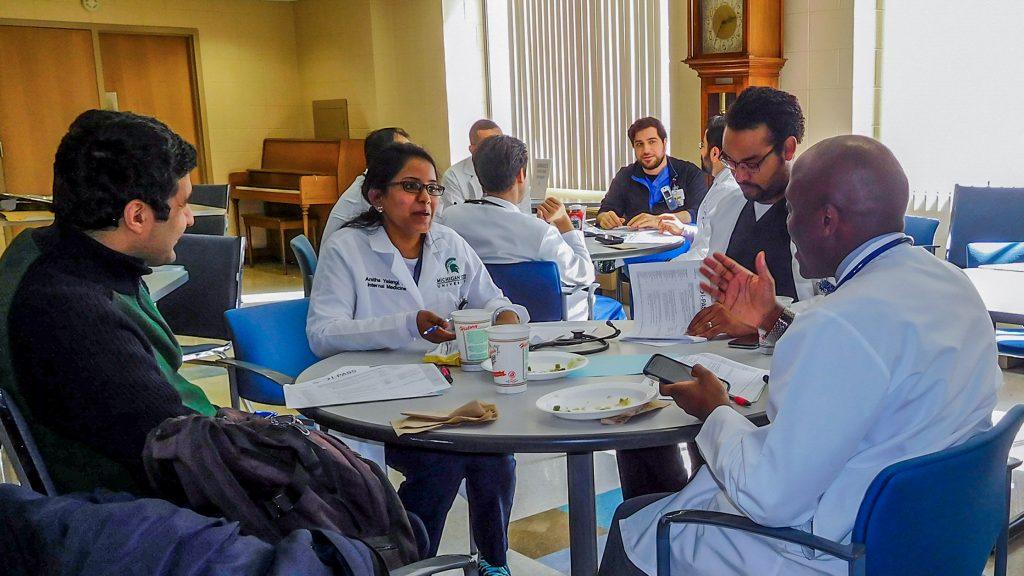 Hurley Medical Center residents, Flint, MI