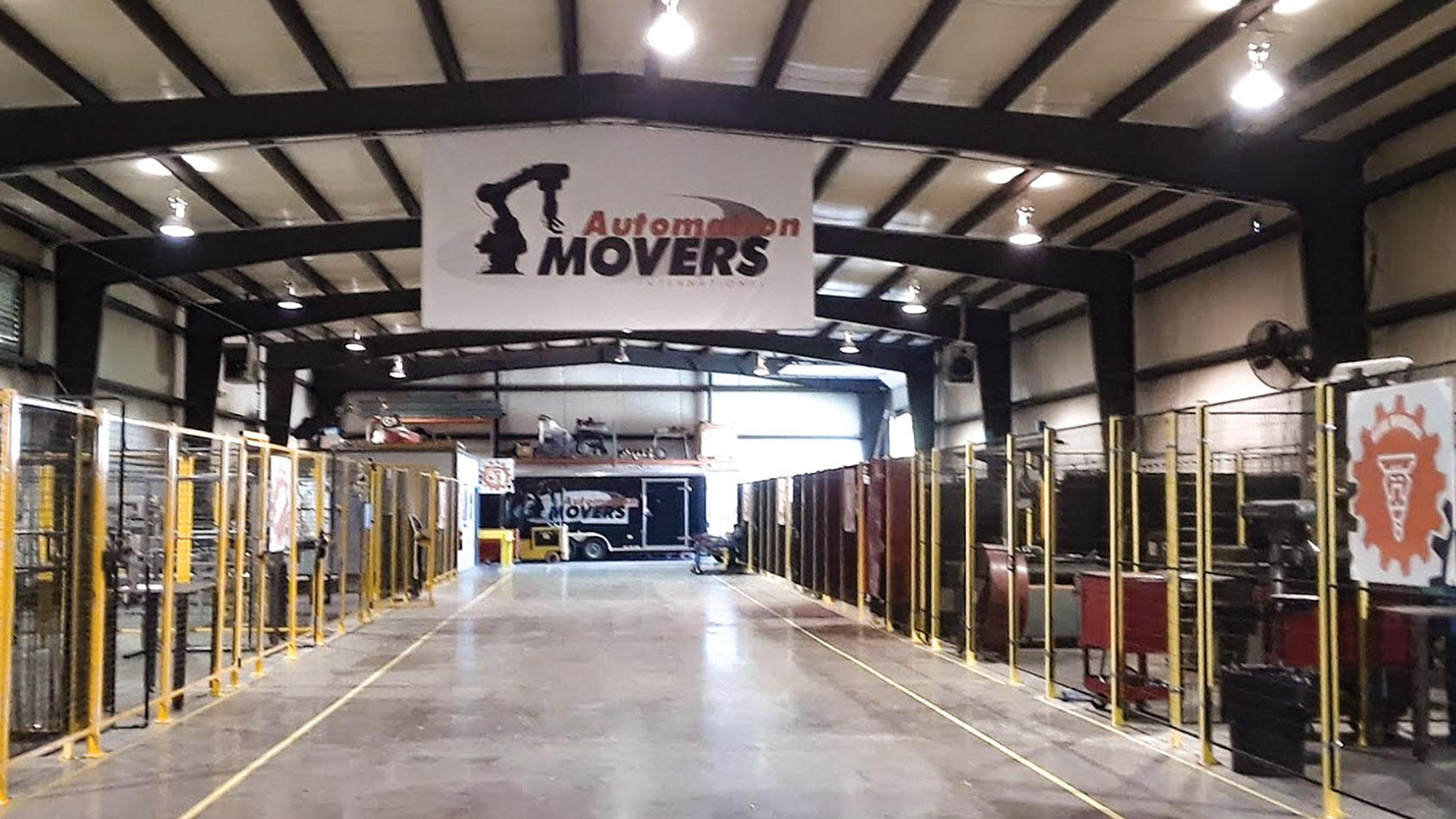 Interior of Automation Movers International, MI