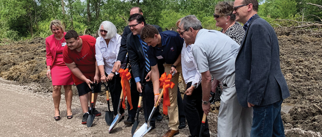 Miracle League of Greater Flint groundbreaking