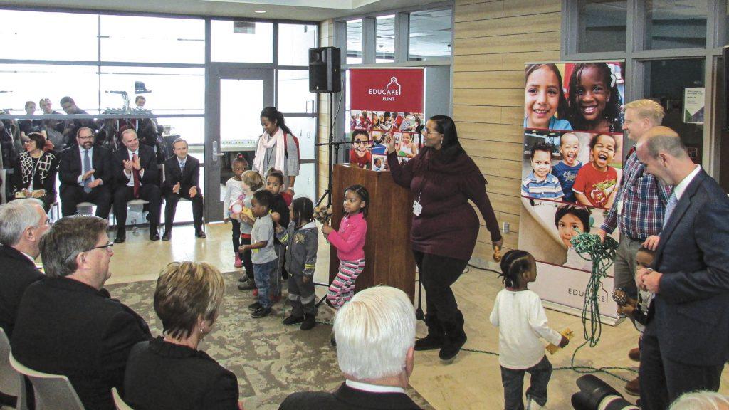 Grand opening for Educare Flint