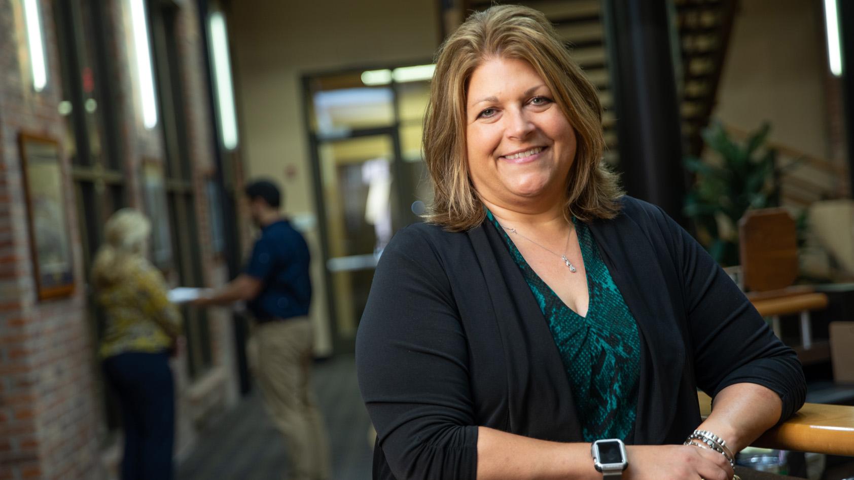Leanne Panduren, CEO of ROWE Professional Services