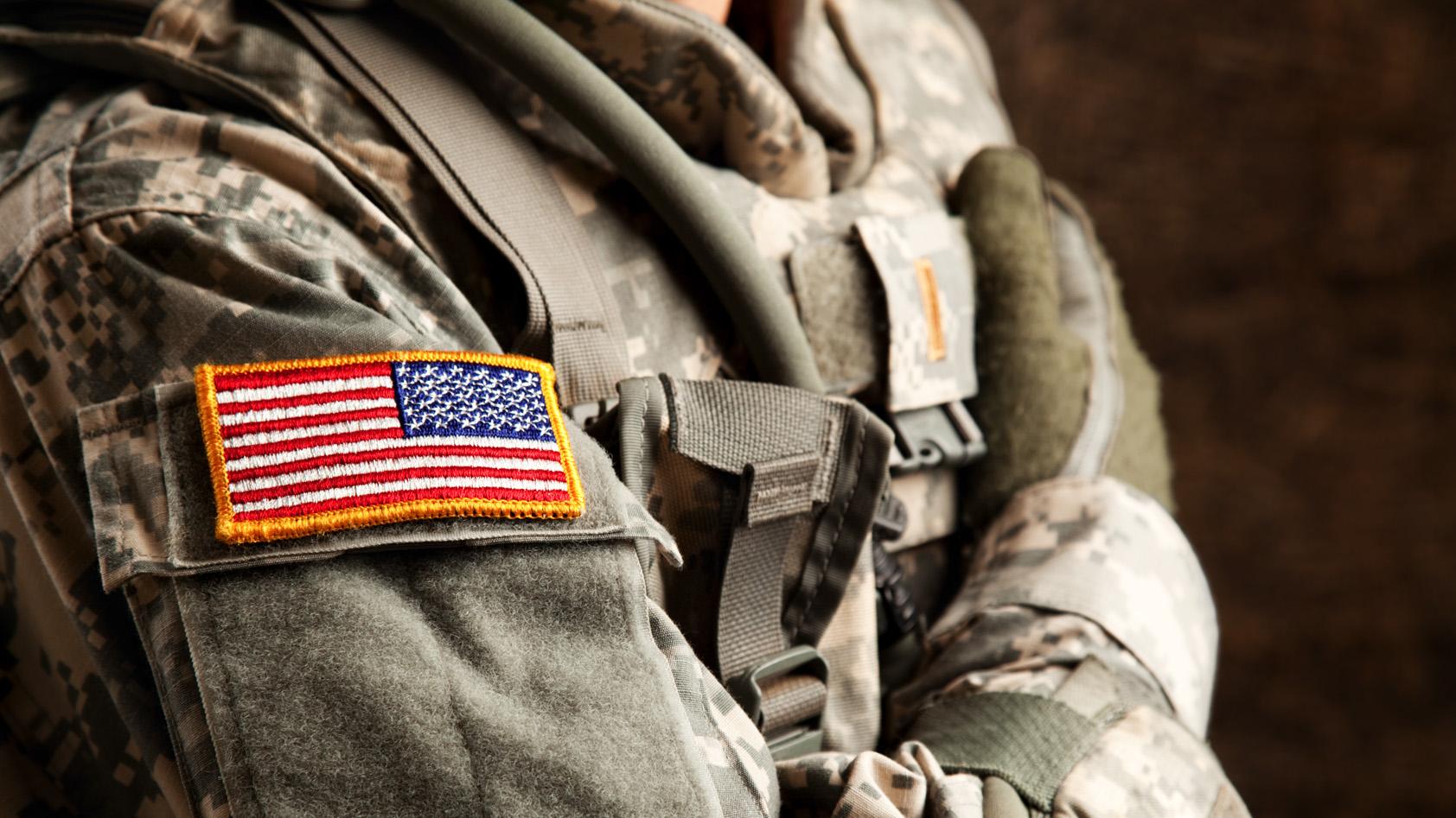 United States serviceman