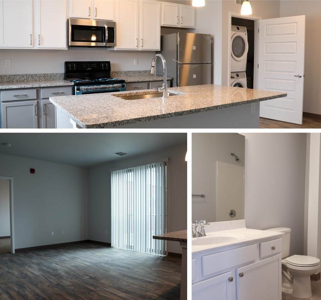 One bedroom apartment in The Marketplace Apartments