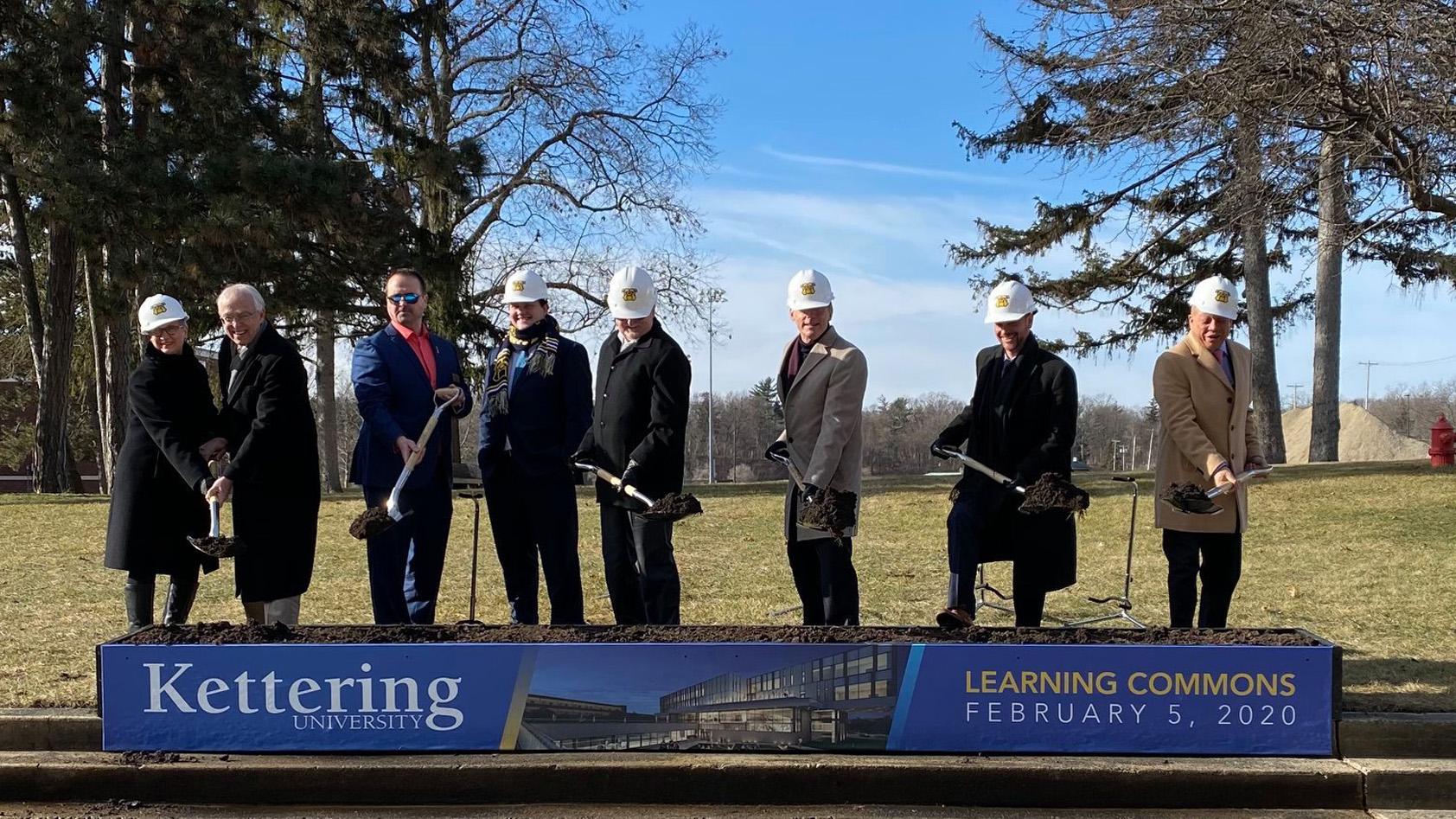 Kettering University ground breaking