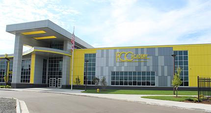 Flint Cultural Center Academy exterior