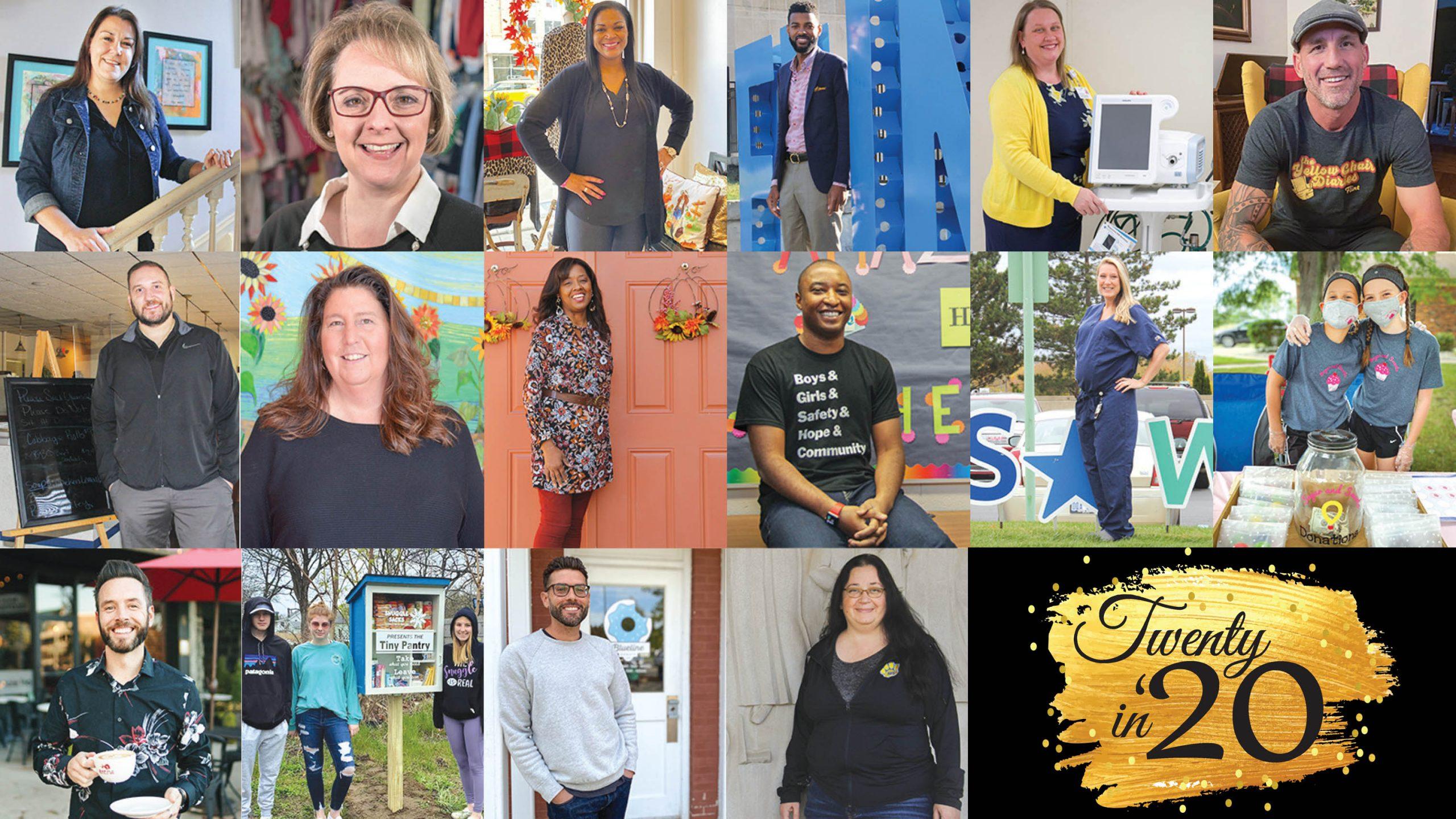 Twenty in '20 honorees