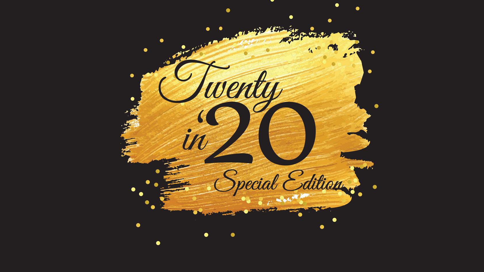 Twenty in '20 logo