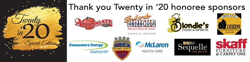 Twenty in '20 honoree sponsors