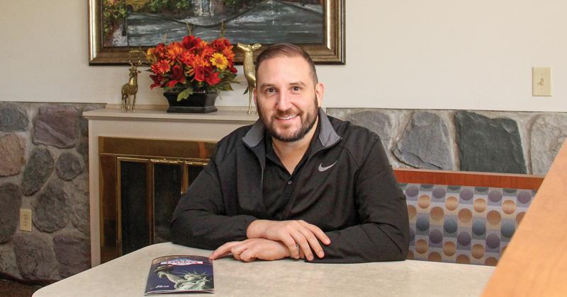 John Panos, owner of Liberty Family Dining