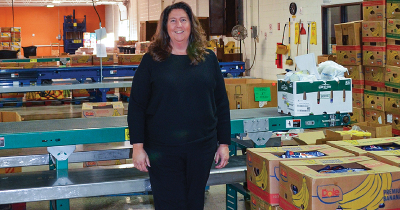 Kara Ross of the Food Bank of Eastern Michigan