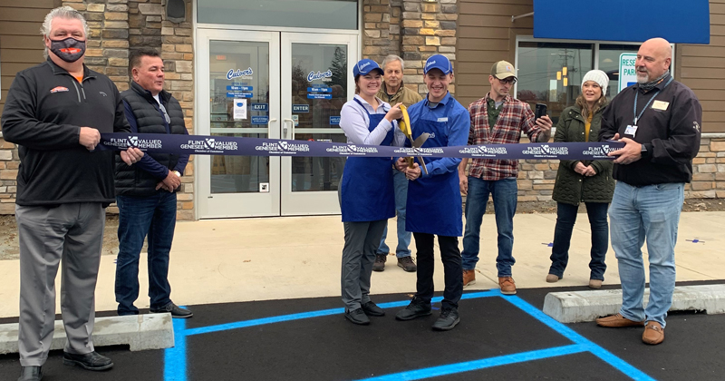 Culver's on Miller Road hold a ribbon cutting