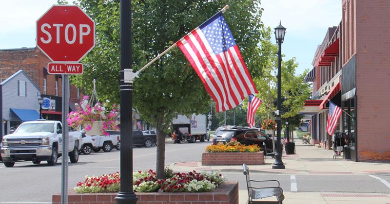 Downtown Davison, Michigan